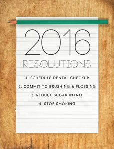 Dental new years resolutions