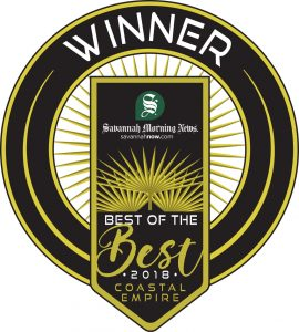 Savannah Morning News Best of the Best 2018 Coastal Empire